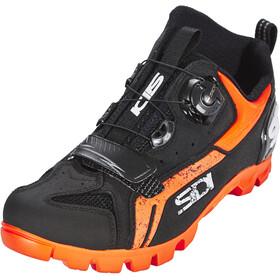 Sidi MTB Defender Schuhe Herren schwarz/orange